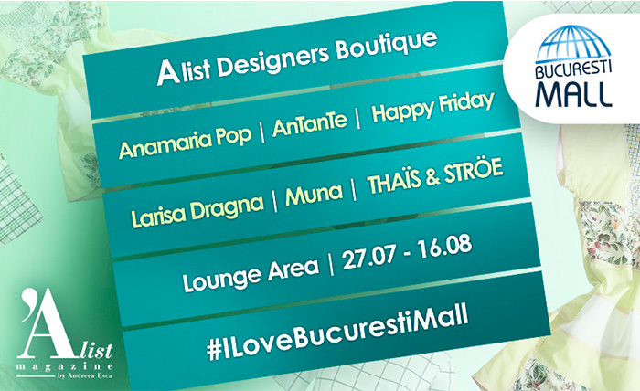 6 Romanian brands @Designers Boutique in Bucuresti Mall